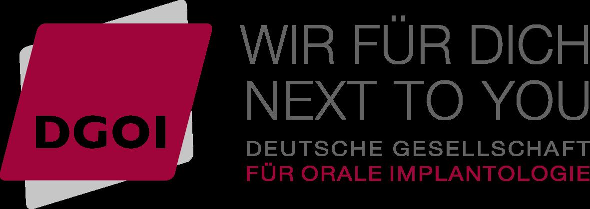 Logo DGOI - Deutsche Gesellschaft für Orale Implantologie